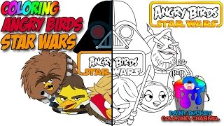 Download lagu How to Color Angry Birds Star Wars - Angry Birds Coloring Page
