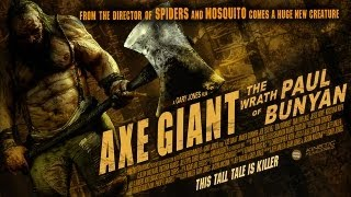 AXE GIANT : THE WRATH OF PAUL BUNYAN ( 2013 Amber Connor ) B-Movie Review