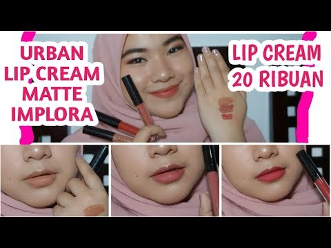 urban-lip-cream-matte-implora-||-lip-cream-harga-20-ribuan