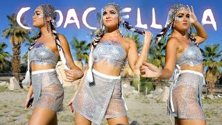What having an Artist Pass at Coachella is like! Coachella 2019 Outfits