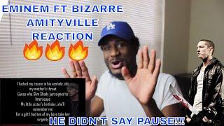 AMITYVILLE - EMINEM   SLIM SHADY AND BIZARRE ARE PSYCHOPATHS !!!   REACTION!!