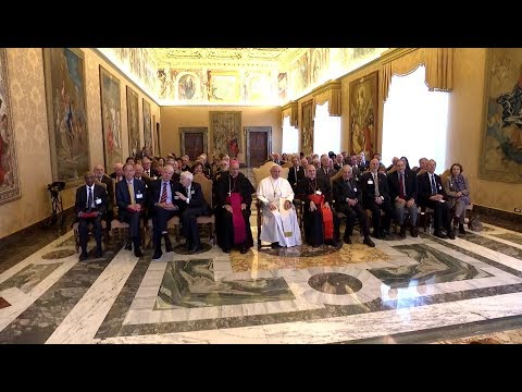 Pope to Vatican Scientists: There is a lack of will to end wars and invest in common good