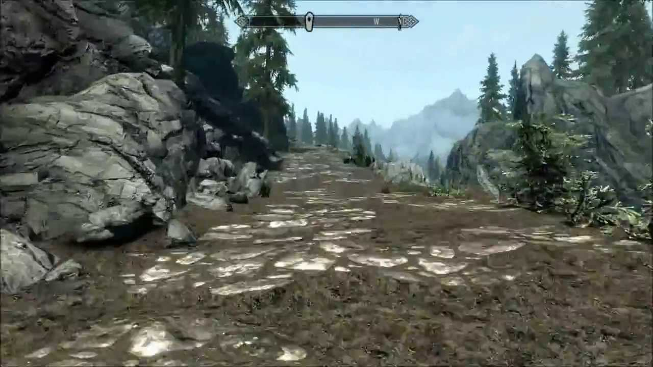 Skyrim - Treasure Map 1 Guide - YouTube