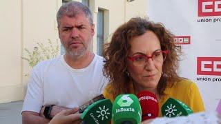 "Nuria López (CCOO-A) cree que Serrano ""tendría que dimitir"""