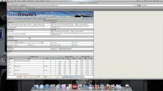 X Plane 9- How to Plan a Flight