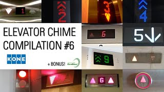 6th Anniversary Special Elevator Chime Compilation #6 - Kone