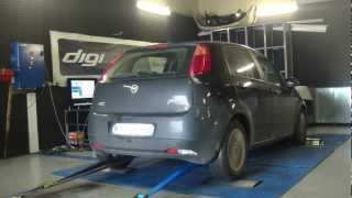 * Reprogrammation Moteur * Fiat Grande Punto 1.3 jtd 90cv @ 111cv Dyno Digiservices Paris