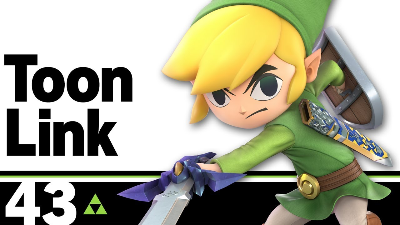 The Ultimate Super Smash Bros  Character Guide: Toon Link