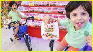 Of Of Of Alışveriş Merkezinde Bisiklet Sürdük