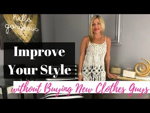 17c8d7ce8 Improve Your Style Without Buying New Clothes Guys - YouTube