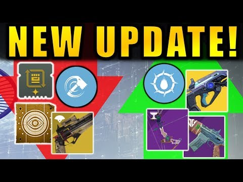 NEW UPDATE! - Glimmer DELETED! - Mods NERFED! | Destiny 2: Season of Dawn