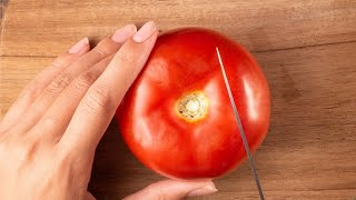 You&#39ve Been Cutting Tomatoes Wrong This Whole Time