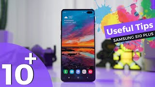 10 Useful Samsung Galaxy S10 & S10 plus Tips w/ Tricks | Must Watch