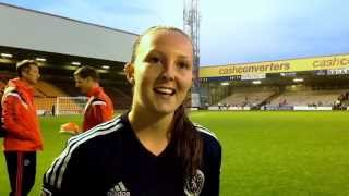 Scotland 9-0 Faroe Islands | Caroline Weir Reaction