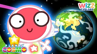 Planet Cosmo | Viewing Earth From Outer Space | Full Episodes | Wizz Explore