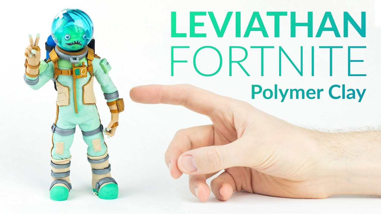 Leviathan Fortnite Battle Royale Polymer Clay Tutorial Youtube