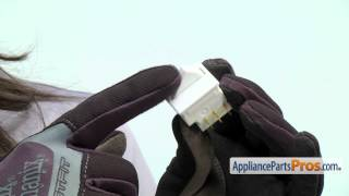 Refrigerator Light Switch (part #WR23X21073) - How To Replace