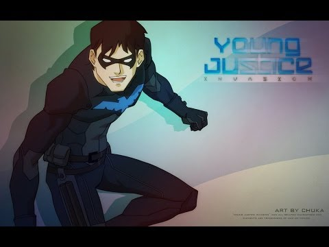 Young justice invasion nightwing tribute amv youtube - Pictures of nightwing from young justice ...