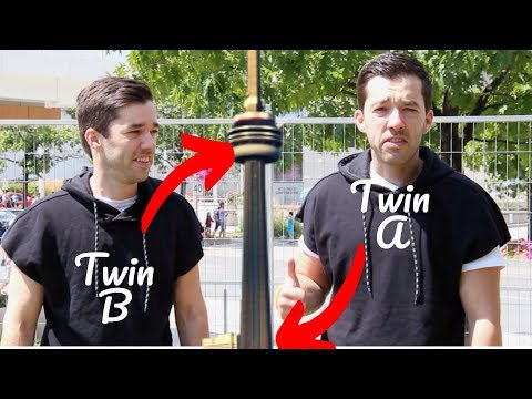 TWIN TELEPORTATION CN TOWER PRANK!