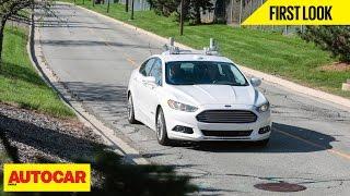 Ford Fusion Autonomous Vehicle | First Look | Autocar India