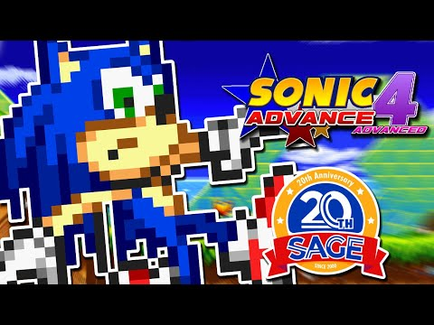 A Sonic Fan Game That DISCOURAGES BOOSTING?! | Sonic Advance 4 Advanced (SAGE 2020)