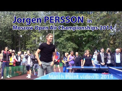 Moscow Open Air Championships-2014. Jorgen Persson in Russia