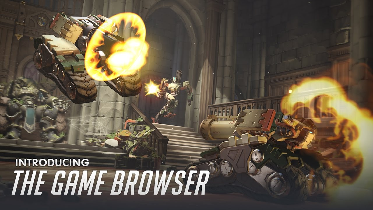 Introducing the Game Browser - News - Overwatch