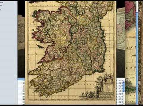 Antique Historical Vintage Clip Art Map Collection Releasing