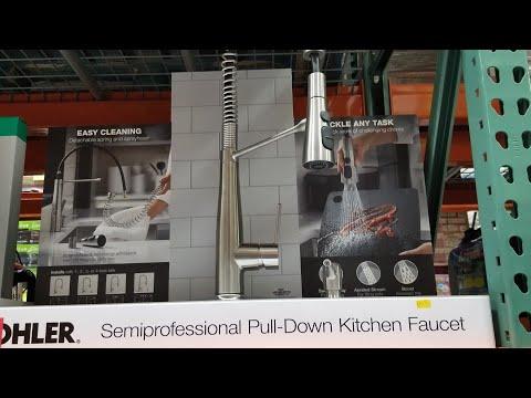 costco!-kohler-semi-professional-pull-down-kitchen-faucet!-$239!!!