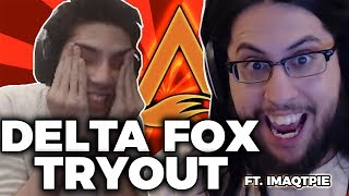 One of IWDominate's most viewed videos: DELTA FOX TRYOUT ft. Imaqtpie