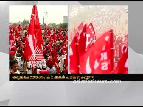 30,000 Maharashtra farmers march to Mumbai