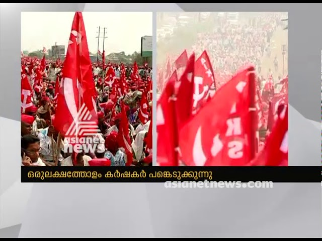 30,000 Maharashtra farmers march to Mumbai