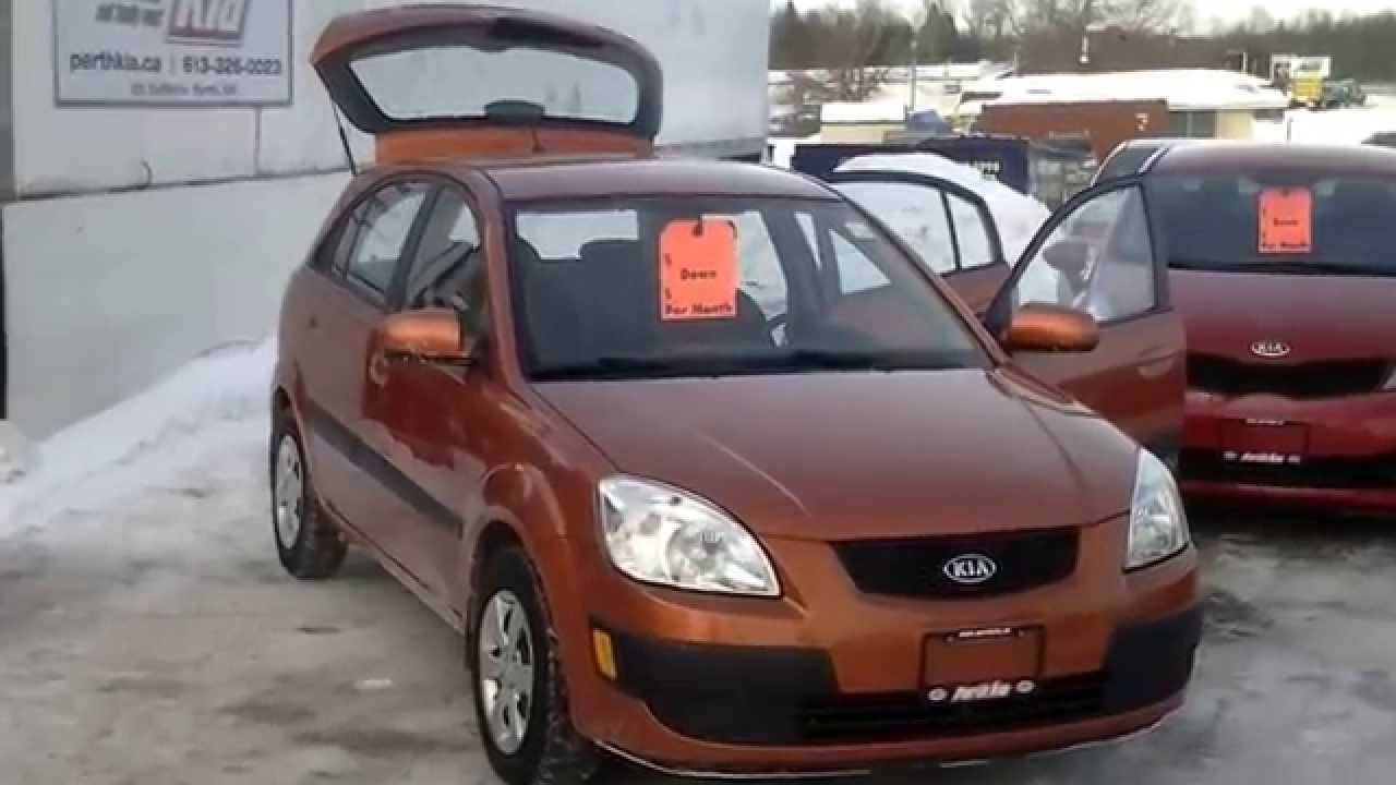Used 2009 kia rio5