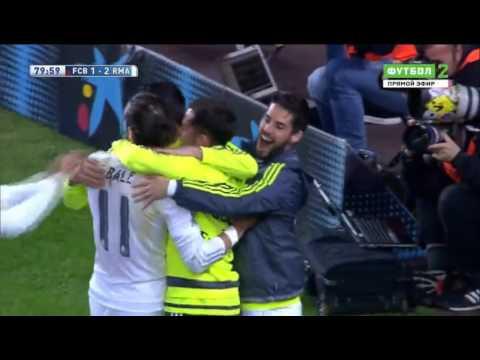 Gareth Bale canceled goal // disallowed goal - Barcelona Real Madrid ~ El Clasico