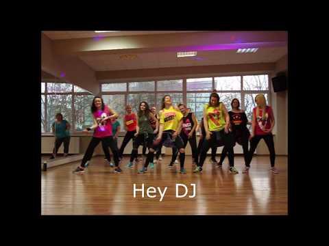 CNCO, Meghan Trainor, Sean Paul - Hey DJ - ZUMBA Patrycja Cholewa - Choreography - Dance Video