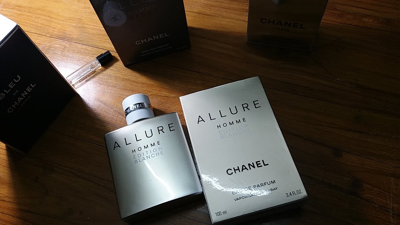 cb024462b9a7 Chanel Allure Homme Edition Blanche (EDP) (2014) - YouTube