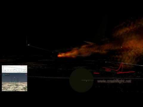 Реконструкция авиакатастрофы Boeing 737-800 МАУ UR-PSR рейса PS752 (AUI752) близ Тегерана 08.01.2020