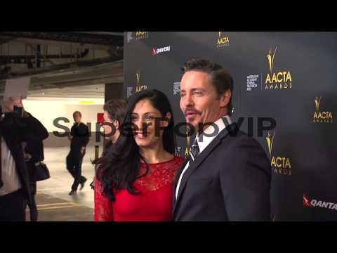 Tehmina Sunny, Charles Mesure at 2nd Annual AACTA Interna...