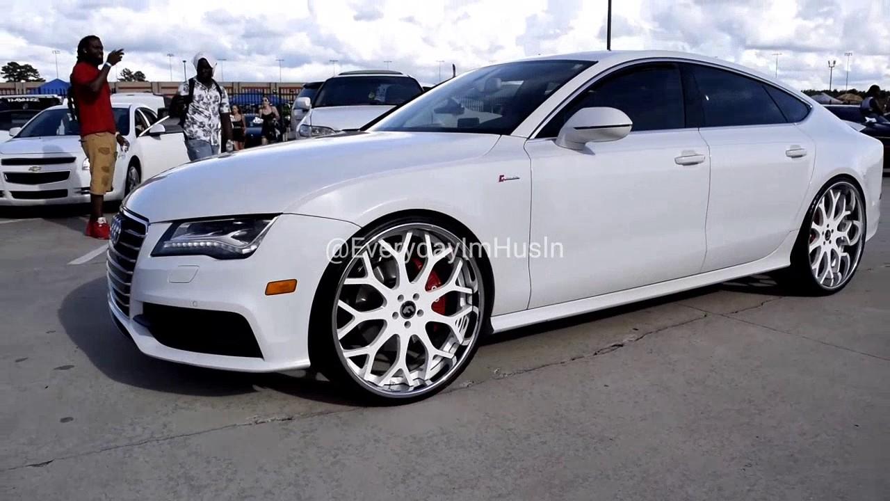 Street Whipz ALL WHITE EVERYTHING Porsche Panamera Audi A - All white audi