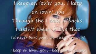 Reba McEntire - I Keep On Loving You (lyrics) new 2010 song single!