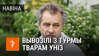 Анатоль Лябедзька на волі пасьля 30 сутак арышту / Лебедько на свободе после 30 суток ареста