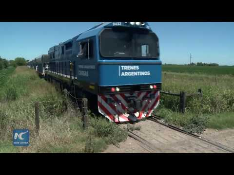 Argentina's railroad transformed by Chinese-made trains