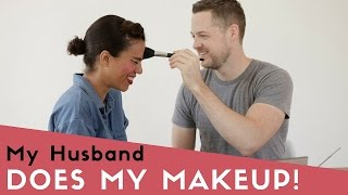 My Husband Does My Makeup! - Style Me Grasie & Damien Fahey