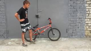 Обучение базовых трюков нa BMX!!!