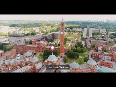 University of Birmingham Aerial Campus Tour