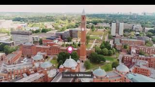 University of Birmingham Aerial Campus Tour
