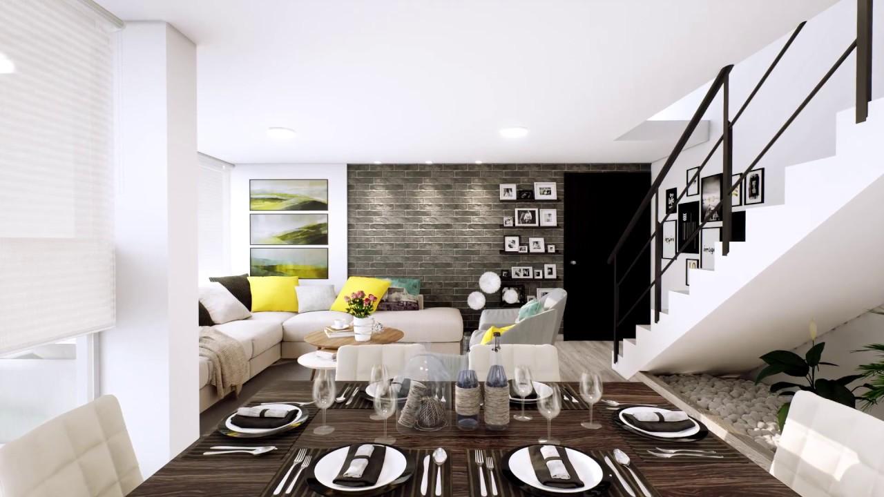 Sala comedor cocina moderna dise o interior pebo for Cocina comedor modernos fotos