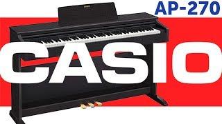 Цифрові фортепіано CASIO CELVIANO AP-270. Огляд.