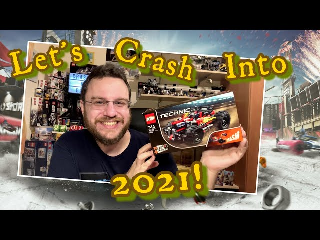 CRASH Right Into 2021 With BASH! - Lego Technic Set 42073