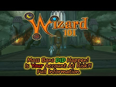Wizard101 Mass Bans DID Happen, Are YOU At Risk? Full Information